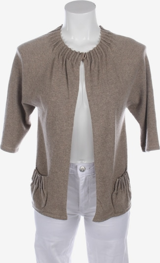 Allude Sweater & Cardigan in S in Light brown, Item view