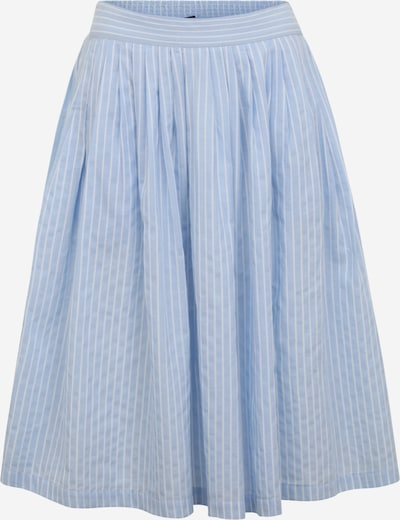 Y.A.S Petite Skirt in Light blue / White, Item view