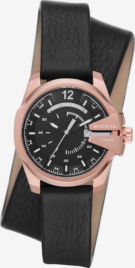 DIESEL Armbanduhr in rosegold / schwarz / silber / weiß, Produktansicht