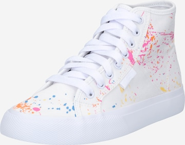 DC Shoes High-Top Sneakers 'MANUAL' in White