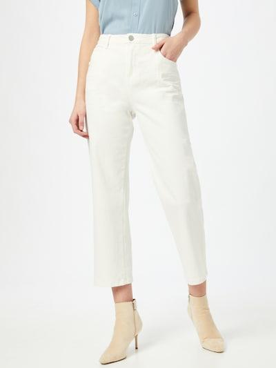 OPUS Jeans 'Lani' in white denim, Modelansicht
