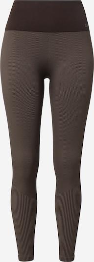 Pantaloni sport Casall pe maro mokka / maro închis, Vizualizare produs