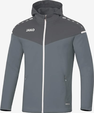 JAKO Jacke in grau / schwarz, Produktansicht