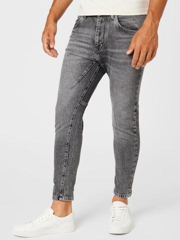 Jeans 'WEL' de la DRYKORN pe gri