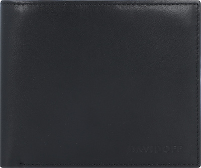Davidoff Essentials Geldbörse Leder 11,5 cm in schwarz, Produktansicht