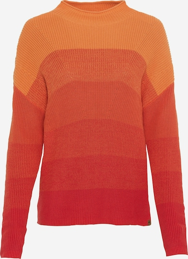 CAMEL ACTIVE Pullover in orange / rot, Produktansicht