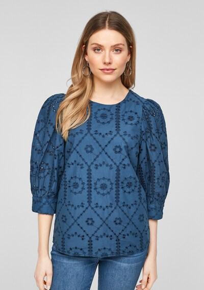 Bluză s.Oliver pe albastru, Vizualizare model
