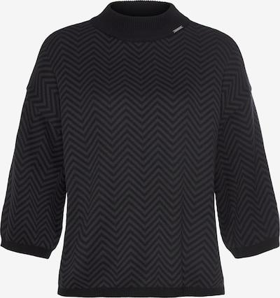 BRUNO BANANI Pullover in dunkelgrau / schwarz, Produktansicht