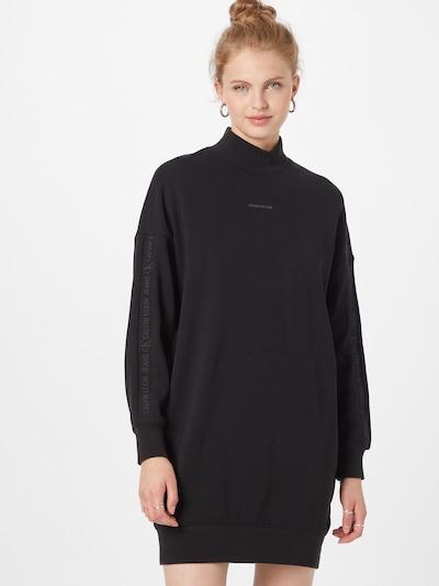 Calvin Klein Jeans Šaty - tmavě šedá / černá, Model/ka