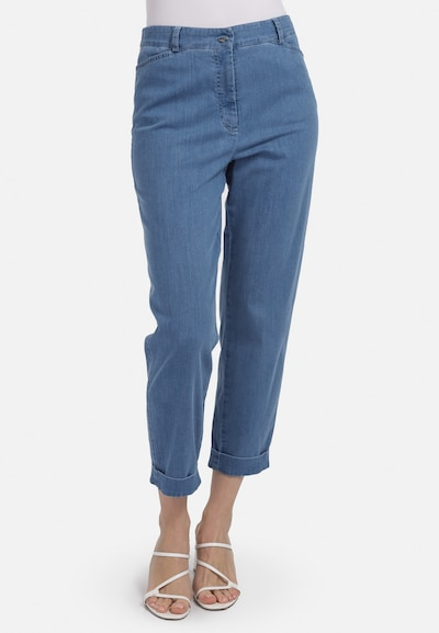 HELMIDGE Jeans in de kleur Blauw / Blauw denim, Modelweergave