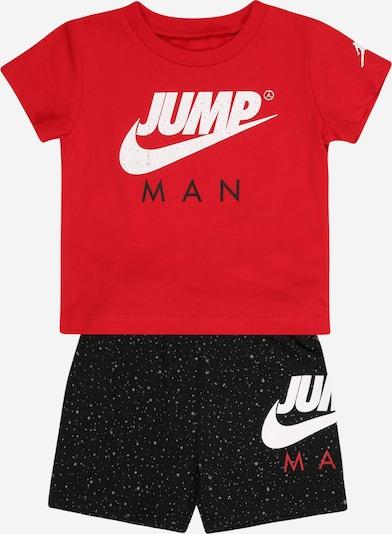 Jordan Treniņtērps, krāsa - sarkans / melns / balts, Preces skats