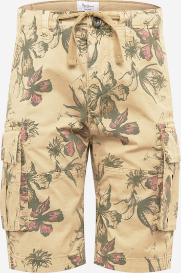 Pepe Jeans Cargobroek 'MAJOR' in de kleur Sand / Kaki / Rosa, Productweergave