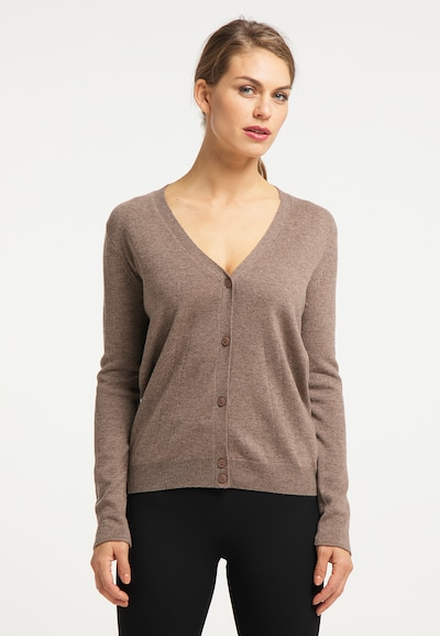 usha BLACK LABEL Cardigan in cappuccino, Modelansicht
