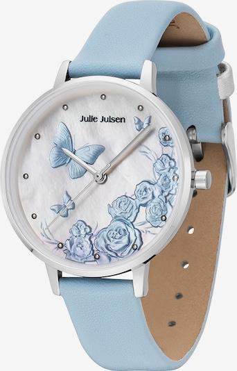 Julie Julsen Uhr in hellblau / silber, Produktansicht