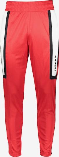 Nike Sportswear Hose in rot / weiß, Produktansicht