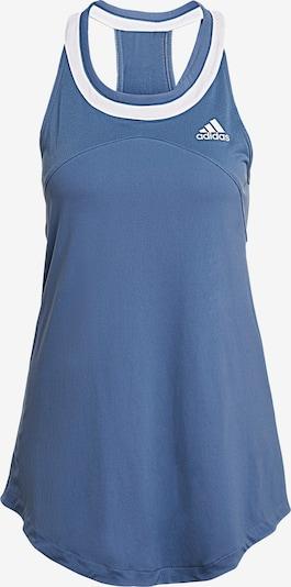 ADIDAS PERFORMANCE Sporttop 'Club Tennis' in blau / weiß, Produktansicht