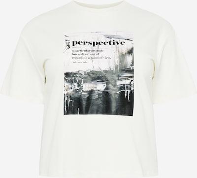 NU-IN Plus Μπλουζάκι σε μαύρο / λευκό, Άποψη προϊόντος