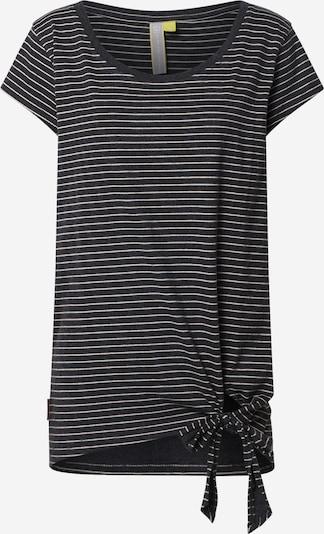 Alife and Kickin Shirt 'Tina' in schwarz / weiß, Produktansicht