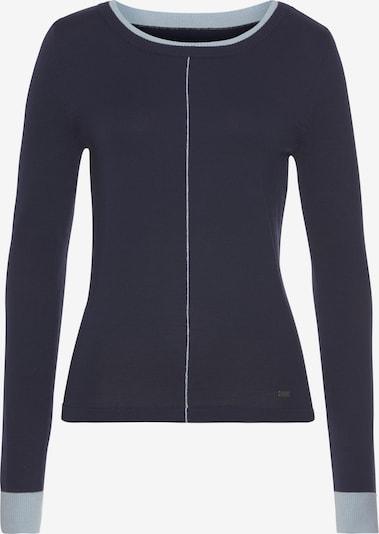 ARIZONA Pullover in navy / hellblau, Produktansicht