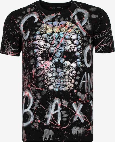 CIPO & BAXX T-Shirt 'CT579' in schwarz: Frontalansicht