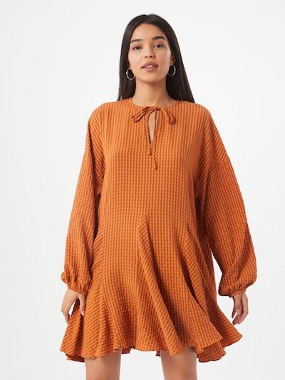 GLAMOROUS Kleid in orange, Modelansicht