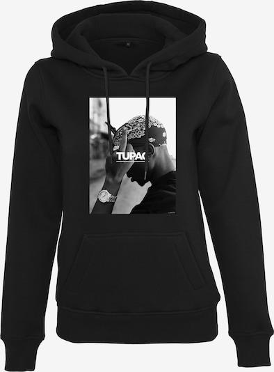 Merchcode Sweatshirt '2Pac F*ck the World' in de kleur Zwart / Wit, Productweergave