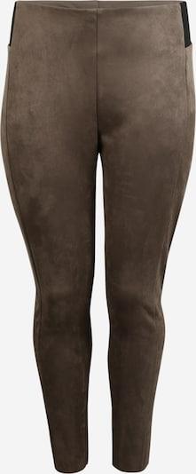 Vero Moda Curve Leggings 'Cava' in braun / schwarz, Produktansicht