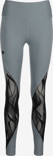 UNDER ARMOUR Leggings 'Rush Vent' in grau / schwarz, Produktansicht