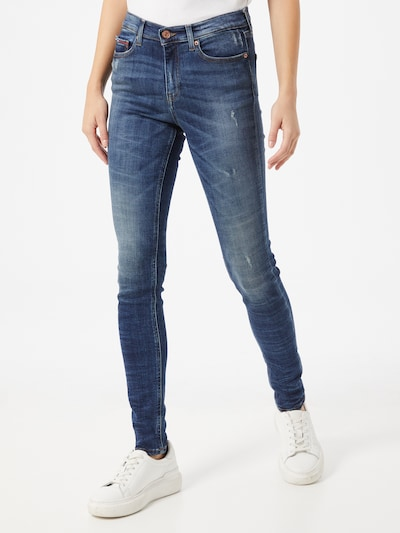 Tommy Jeans Jeans 'Leona' in blau, Modelansicht