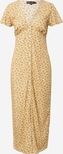 Motel Kleid 'Larin' in gelb / pastellgrün / orange, Produktansicht