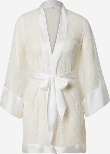 ABOUT YOU x hunkemöller Dressing gown 'Eva' in White, Item view