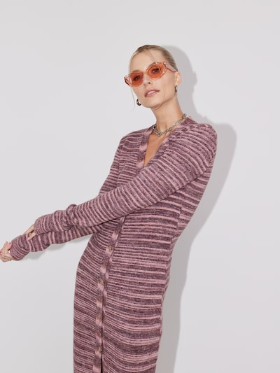 LeGer by Lena Gercke Knitted dress 'Pearl' in Purple / Pink, View model