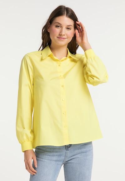 MYMO Bluse in hellgelb, Modelansicht