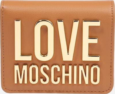 Love Moschino Portemonnaie in cognac / gold, Produktansicht