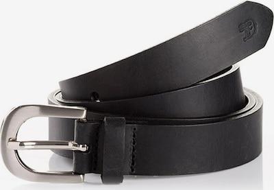 TOM TAILOR Ceinture 'ARIA' en noir, Vue avec produit
