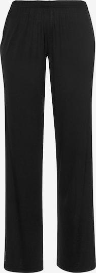 Pantaloni de pijama LASCANA pe negru, Vizualizare produs