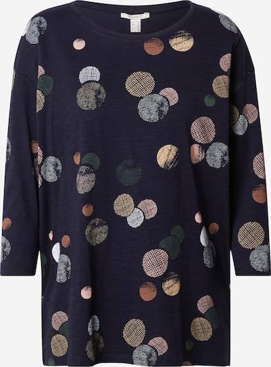 ESPRIT Shirt in navy / mischfarben, Produktansicht