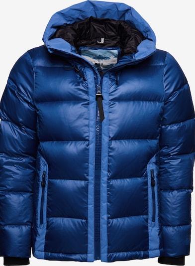 Superdry Sportjas in de kleur Blauw / Lichtblauw, Productweergave