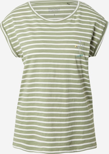 ESPRIT Shirt in Olive / White, Item view