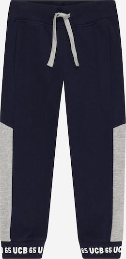 Kelnės iš UNITED COLORS OF BENETTON , spalva - tamsiai mėlyna / šviesiai pilka / balta, Prekių apžvalga