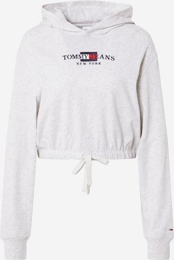 Tommy Jeans Sweatshirt in navy / hellgrau / rot, Produktansicht