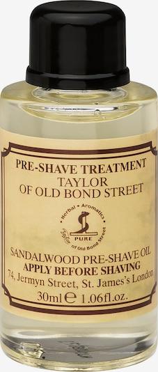 Taylor of Old Bond Street Pre Shave Oil 'Sandalwood' in sand / dunkelbraun, Produktansicht