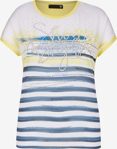 Rabe Full Print Shirt in blau / gelb / grau / weiß, Produktansicht