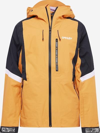 OAKLEY Outdoorová bunda 'GUNN SHELL' - žltá / čierna / biela, Produkt