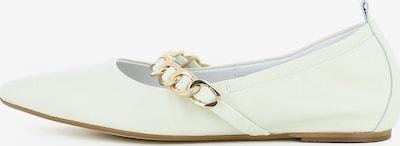 Gianluca Pisati Damen Ballerinas Paola in weiß, Produktansicht