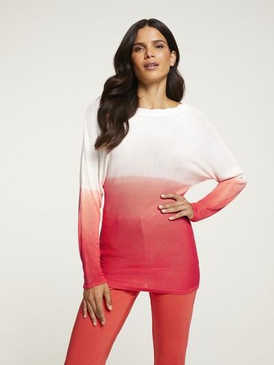 heine Pullover in braun / weiß, Modelansicht