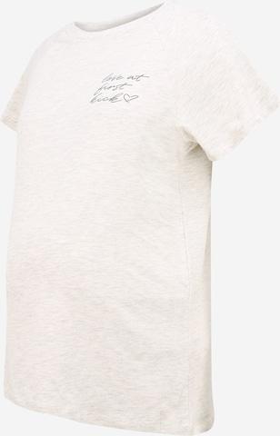 MAMALICIOUS Μπλουζάκι 'Kiky June' σε μπεζ