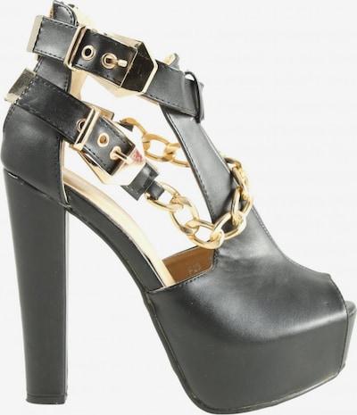 Juliet High Heel Sandaletten in 35 in schwarz, Produktansicht