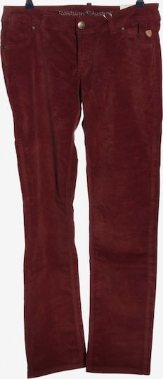 ROADSIGN Five-Pocket-Hose in XL in rot, Produktansicht