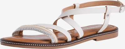 TAMARIS Remienkové sandále - šedobiela, Produkt